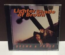 LIGHTER SHADE OF BROWN Brown & Proud CD 1994 PolyGram Records
