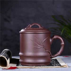 handmade big tea cup real yixing zisha coffee cup 600ml Large capacity Cover cup