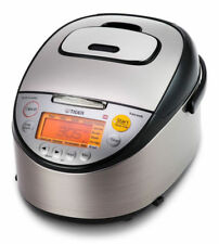 Tiger 10 Cup Induction Heating Rice Cooker 11 In1 Made in Japan JKTS18A