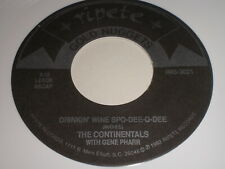 The Continentals: Drinkin' Wine Spo-Dee-O-Dee / Mike Lewis: Sea Cruise 45