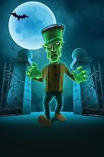 Spookies 365 Blank Journals: Frankie's Halloween Graveyard Journal : 365 Day...