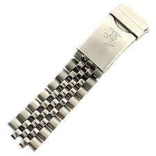 Tag Heuer Model 195/8 Stainless Steel 18MM Mens Half Bracelet With Buckle