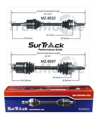 For Mazda 626 MX-6 Probe 2.0L FWD Pair of Front CV Axle Shafts SurTrack Set
