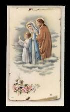 santino -holy card ediz.NB  serie P n.2526 SACRA FAMIGLIA