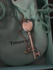 Tiffany & Co Argento Sterling Chiave Ciondolo