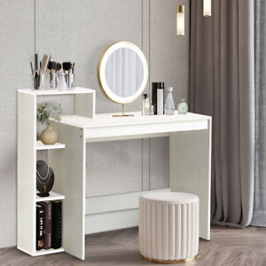 Small Computer Desk PC Table Workstation Home Office Study Furniture With Shelve