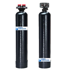 Whole House Anti-Scale Water Softener 20 Gpm + Backwash Carbon Filtration System
