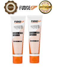 2 X Official Fudge New Blow Dry Putty 75ml - BEST DEAL