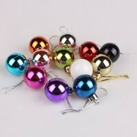 Christmas Tree Xmas Balls Decorations Baubles Party Wedding Ornament Decor 24PCS