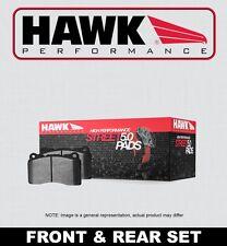 [FRONT + REAR SET] HAWK Performance Street 5.0 Disc Brake Pads HPP51748