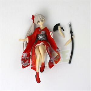 Game Yosuga no Sora Kasugano Sora Kimono Ver. Red Figure 13cm Cake Decor
