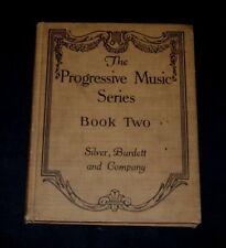 Progressive Music Series 1914 Antique Bk 5th Grade Mozart Haydn Noel Jack Frost
