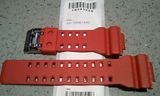 Genuine Casio Replacement Band for GA100B-4 Red GA100 series new