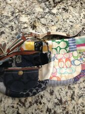 2 Mulipatch Coach Purse With FREE Coach Cleaning Products (Both Leather& Fabric)