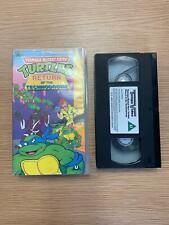 Teenage Mutant Hero Turtles - Return Of The Technodrome (VHS, 1990)