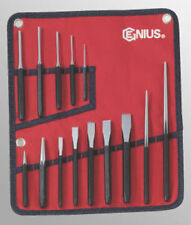 Genius Tools 14 pc Metric Punch & Chisel Set - PC-514M