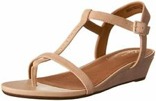 ddfd4b5be9dd ... Wedge Sandal 10m Green.  27.99 New. Clarks Womens Parram Blanc - Nude  Suede 11 Medium