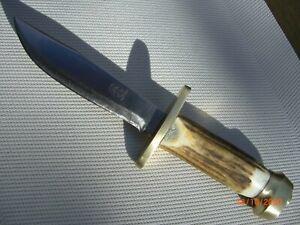 Messer Jagdmesser Hirschhorn