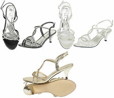 Kitten Bridal or Wedding Synthetic Leather Shoes for Women
