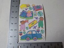 CREATIVE IMAGINATIONS BRYCE & MADELINE TRAVEL STICKERS SCRAPBOOKING NEW A2920