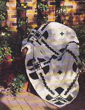 Crochet Pattern ~ LUCK OF THE IRISH Afghan St Patricks Day ~ Instructions