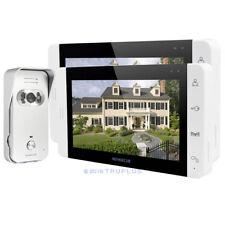 HOMSECUR Video Door Entry Intercom 2x7'' Colour LCD Monitors and HD IR Camera