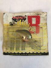 Vintage Bagley Balsa Deep Diving Lure / Original Packaging / *Read Listing*