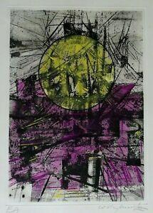 WILLY MUCHA  - Eau-forte  - années 60 - Epreuve d'artiste