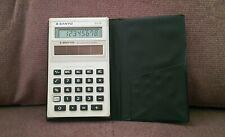 Pocket Calculator SANYO AMORTON CX7P CX-7P Amorphous Solar Battery Made in Japan