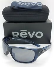 NEW Revo Guide ll sunglasses RE 4073 05 GY Navy Woodgrain Grey Polarized  4073