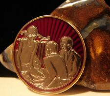 Alcoholics Anonymous NEW The Man on Bed RED Medallion Recovery AA token chip B