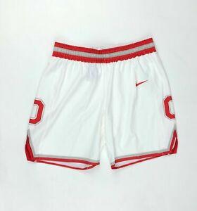 Nike Ohio State Buckeyes Hyperlight Basketball Short Women's Medium White AV2184