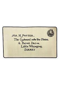 Harry Potter Letra De Aceptación Interior Alfombrilla