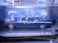 LINCOLN Continental SS 100 X Cabrio Staatslimousine USA Kennedy IXO Altaya 1:43