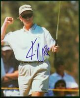 Original 8x10 Autograph of LPGA Golfer Karrie Webb, Has won 57 Pro Events