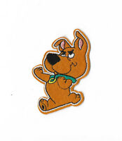 SCRAPPY DOO Iron on Patch Embroidered Cartoon Badge Scooby Doo Sew PT219