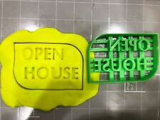 Open House Sign Cookie Cutter