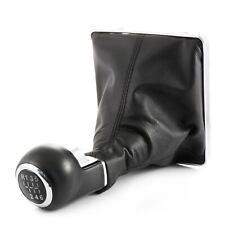 Negro Palanca de Cambios Pomo + Guardapolvos +Base Para Opel Astra H 1-6&R Lift