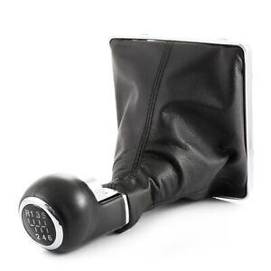 Negro Palanca de Cambios Pomo + Guardapolvos +Base Para Opel Astra H 1-6 & R
