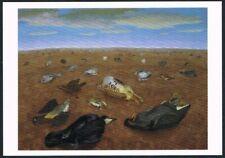 Postcard. Art. Painting. Landscape of Shame. Cedric Morris. Tate Gallery. Unused