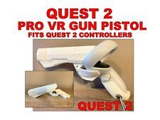 QUEST 2 VR Gun Pistol Grip pro fits Oculus Quest 2 controllers only. VR GUN GRIP