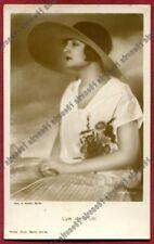 LYA DE PUTTI 13b ATTRICE ACTRESS CINEMA MUTO SILENT MOVIE real photo VIAGG. 1928