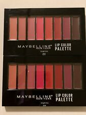 2X Maybelline Lip Color Palette 01 New