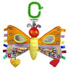 NEW NWT Eric Carle The Very Hungry Caterpillar Butterfly Developmental Baby Toy