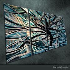 Modern Metal Wall Art Original Painting Sculpture Indoor Outdoor Decor-Zenart