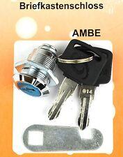 SCHLOSS Schrankschloss Möbelschloss Briefkastenschloss inkl. 2 Schlüssel