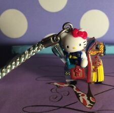 Adorable Sanrio Hello Kitty Cell Phone Charm, Keychain, Kitty In A Horse Chinese