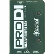 Radial PRO DI - Passive Direct Box - Brand New