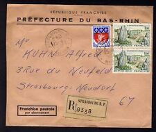 █ n°1440 enveloppe Préfecture Bas-Rhin STRASBOURG R.P. █