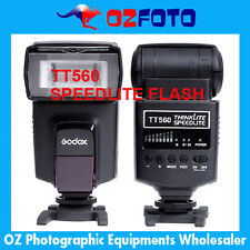 Premium Flash Speedlite Flashgun TT560 for Canon Nikon Pentax DSLR New AU Stock